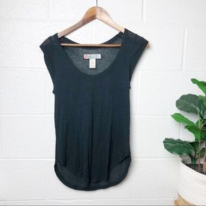 Free People Beach Navy Blue Cover Up Tank Top